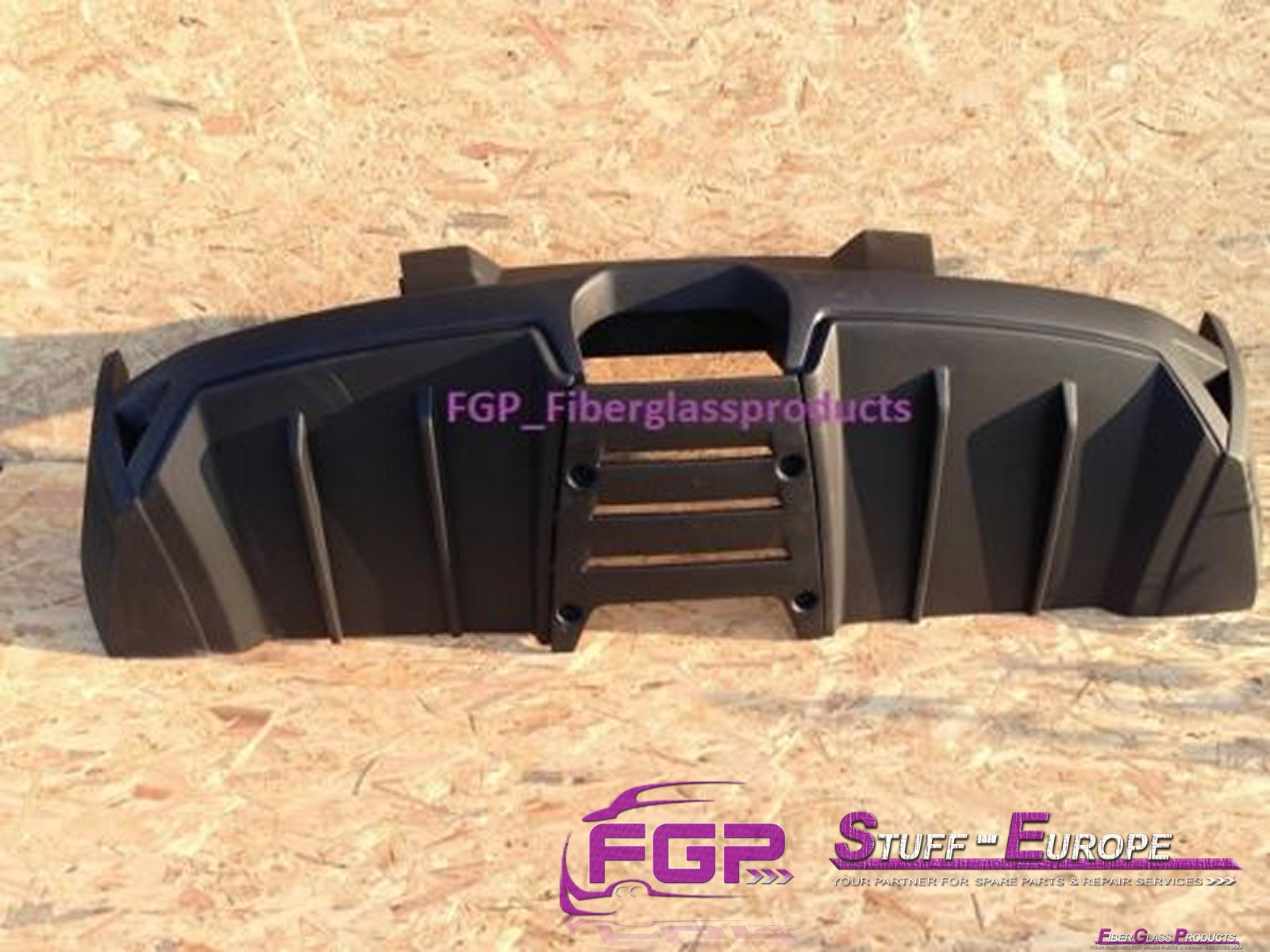 LP640 Rear bumper for Lamborghini Murcielago