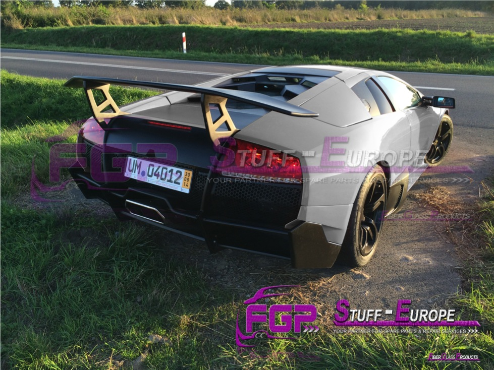 LP670 Rear bumper for Lamborghini Murcielago