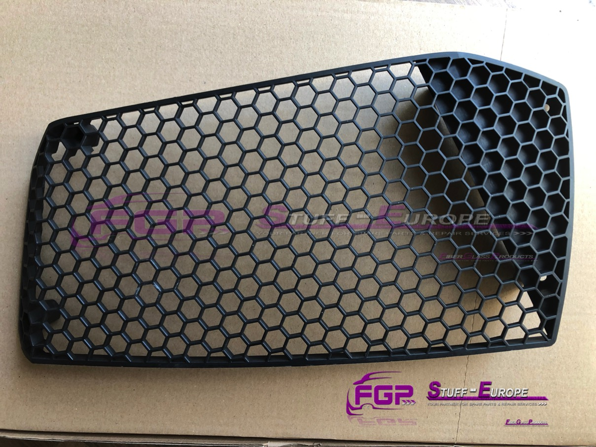 FGP Front bumper grill right for Lamborghini Gallardo 400807682 FGP grid