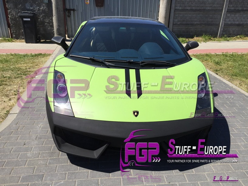 LP560 Front bumper for Lamborghini Gallardo 2004-2008
