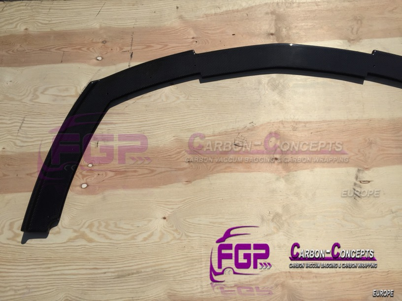 Real Carbon Front bumper lip for Lamborghini Gallardo LP560