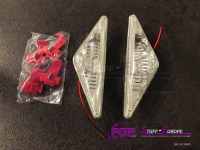 Lamborghini Murcielago WHITE LED turn signal light set