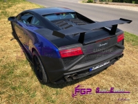Squadra Corse Rear bumper & Diffuser set for Lamborghini Gallardo