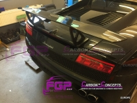 Real Carbon LP670 rear Wing spoiler for Lamborghini Gallardo Also LP560 & LP570