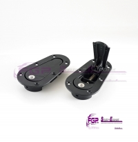 OEM Original Lamborghini Gallardo STS SUPER TROFEO engine lid set Latches closing Quick fastener 400807074A